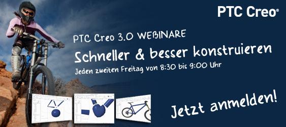 PTC Creo 3.0 Webinare